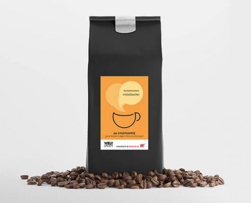 Stadtkaffee Mistelbach Verpackungsdesign