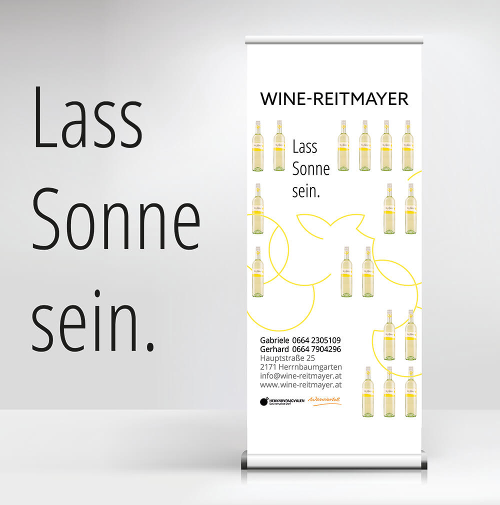 Wine Reitmayer Roll-up
